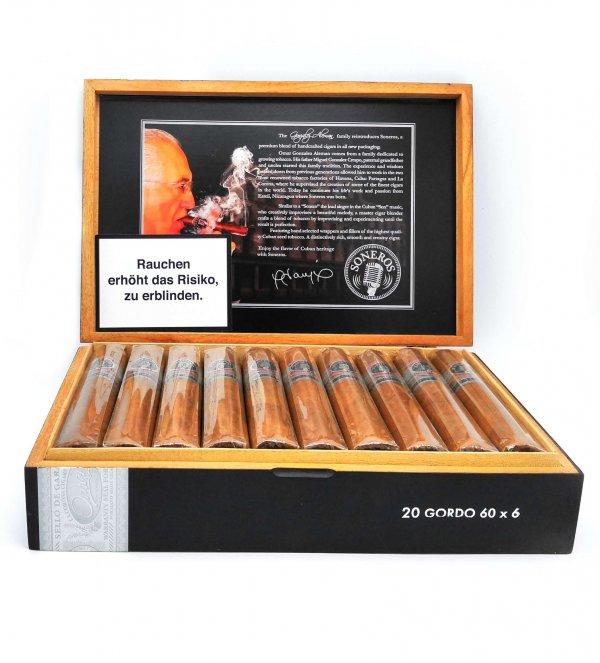 Soneros Gordo Habano Zigarren | 20er Kiste