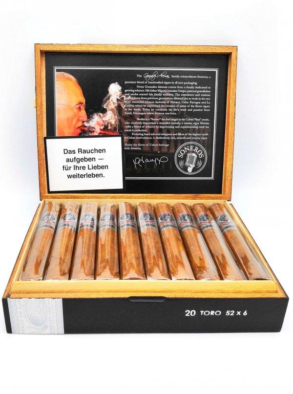 Soneros Toro Habano Zigarren | 20er Kiste