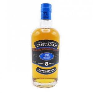 Ron Cihuatan Solera 8 Gran Reserva Rum Cihuatan