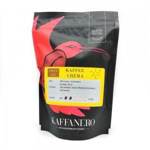 Kaffeerösterei Kaffanero Dresden, Kaffee Crema, gelb