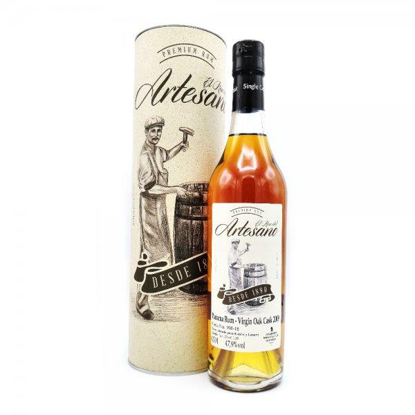 El Ron del Artesano Virgin Oak Cask 2009 Rum
