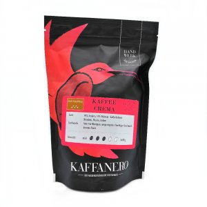 Kaffeerösterei Kaffanero Dresden, Kaffee Crema rot